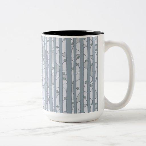 Into the Woods grey RInger Mug Mug