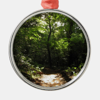 Into the Woods Silver-Colored Round Decoration