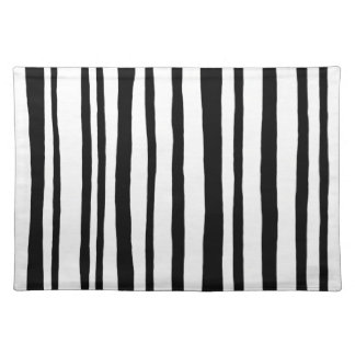 Into the Woods Stripes black Placemats Placemats