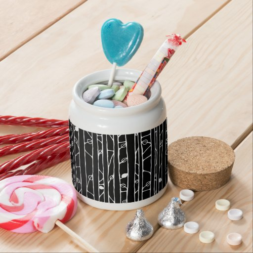 Into the Woods white Candy Jar Candy Jars
