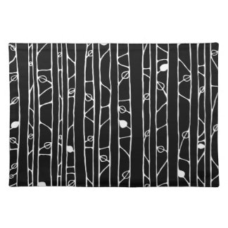 Into the Woods white Placemats Placemat