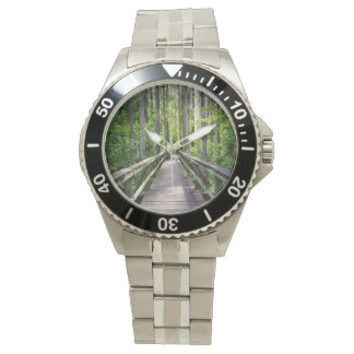 Into the Woods Wrist Watch