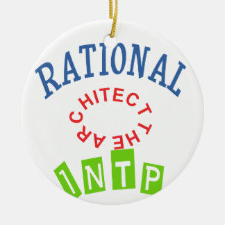 INTP Rational personality Christmas Ornament