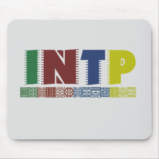 INTP - the architect; Myers-Briggs Mousepad