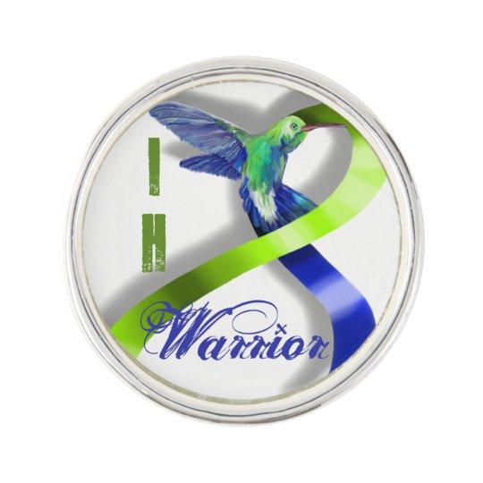 Intracranial Hypertension Warrior Lapel Pin
