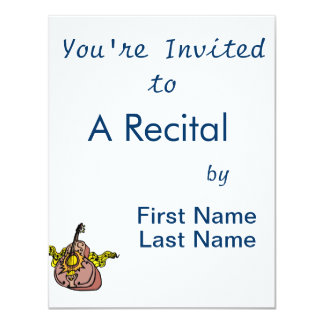 intricate acosutic guitar tail first yellow.png 11 cm x 14 cm invitation card