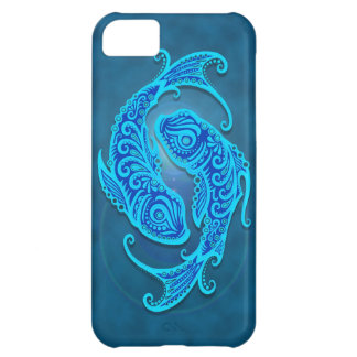 Intricate Blue Tribal Pisces iPhone 5C Case