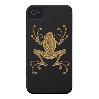 Intricate Brown Tree Frog iPhone 4 Covers