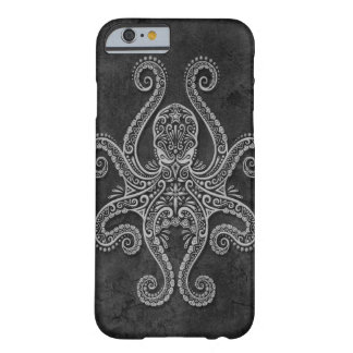 Intricate Dark Stone Octopus Barely There iPhone 6 Case