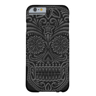 Intricate Dark Sugar Skull Barely There iPhone 6 Case