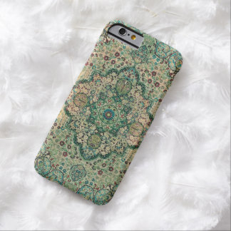 Intricate Floral Persian Carpet Motive Barely There iPhone 6 Case