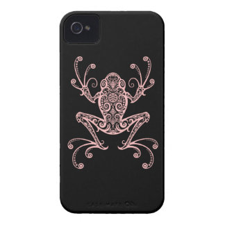 Intricate Pink Tree Frog Case-Mate iPhone 4 Case