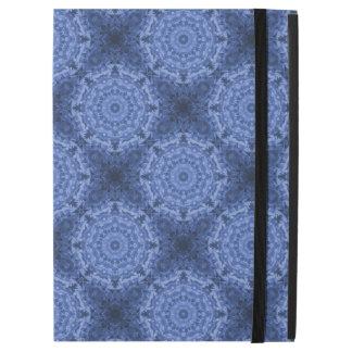 "Intricate Royal Blue Kaleidoscope Diagonal Pattern iPad Pro 12.9"" Case"