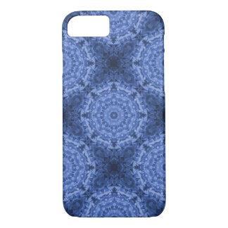 Intricate Royal Blue Kaleidoscope Pattern iPhone 8/7 Case