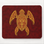 Intricate Sea Turtle Mouse Pads