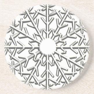 Intricate Snowflake Coaster