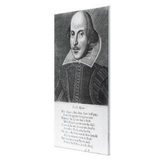 Introduction, 'Mr. William Shakespeares Canvas Print