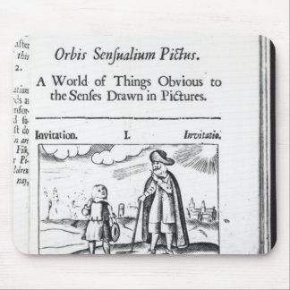 Introduction to 'Orbis Sensualium Pictus' Mouse Mat