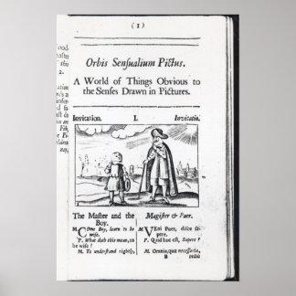 Introduction to Orbis Sensualium Pictus Posters