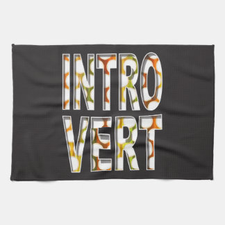 Introvert internal design | Kitchen Towel