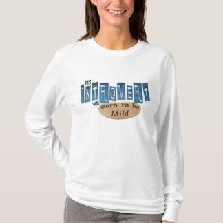 Introvert Womens Long Sleeve Shirt