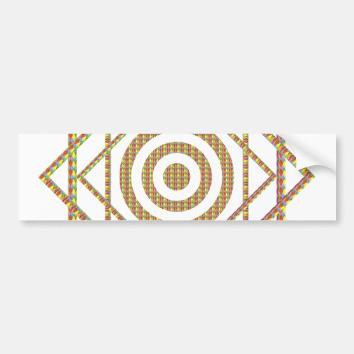 Intuitive BLESSING Design : Star Diamond Shine Bumper Sticker