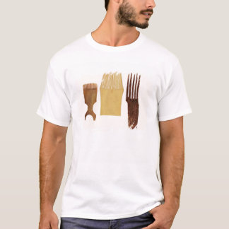 Inuit combs, from Northwest American coast T-Shirt