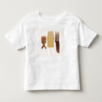 Inuit combs, from Northwest American coast Toddler T-Shirt