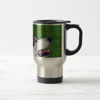 Inuit Sky - Northern Inuit Dog Stainless Steel Travel Mug