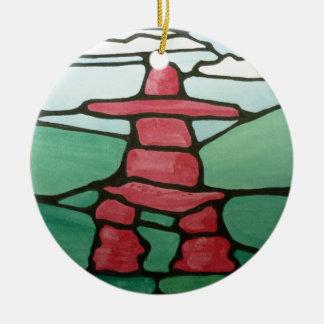 Inukshuk Christmas Ornament