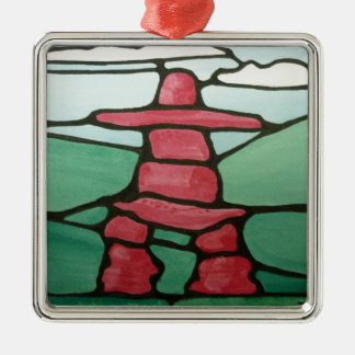 Inukshuk Christmas Ornament