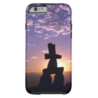 Inukshuk Northwest Territories, Canada Tough iPhone 6 Case