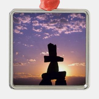 Inukshuk Northwest Territories, Canada Christmas Ornament