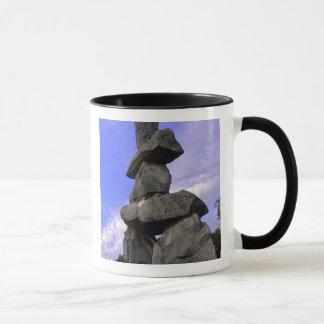 Inukshuk, Northwest Territories, Canada Mug