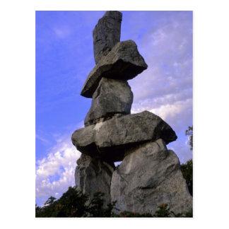 Inukshuk, Northwest Territories, Canada Postcard