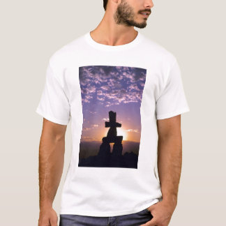 Inukshuk Northwest Territories, Canada T-Shirt