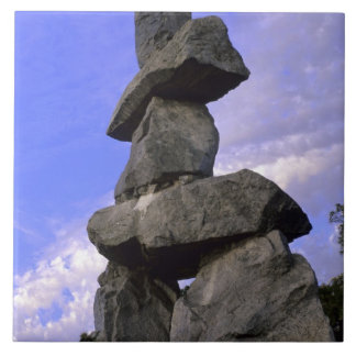 Inukshuk, Northwest Territories, Canada Tile