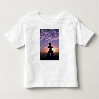 Inukshuk Northwest Territories, Canada Toddler T-Shirt