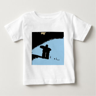 Inukshuk of the Coastal Mountains Baby T-Shirt