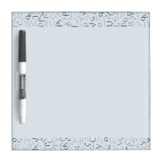 Inuktitut Dry Erase Whiteboard