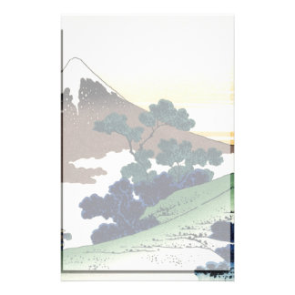 Inume Pass In the Kai Province Customized Stationery