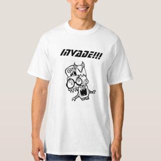 Invade alien creatures t shirts
