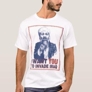 Invade iraq T-Shirt