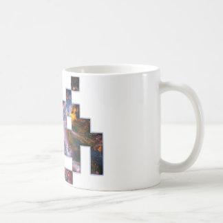 Invader Basic White Mug