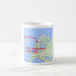Invalid Argument. Try Again. Basic White Mug