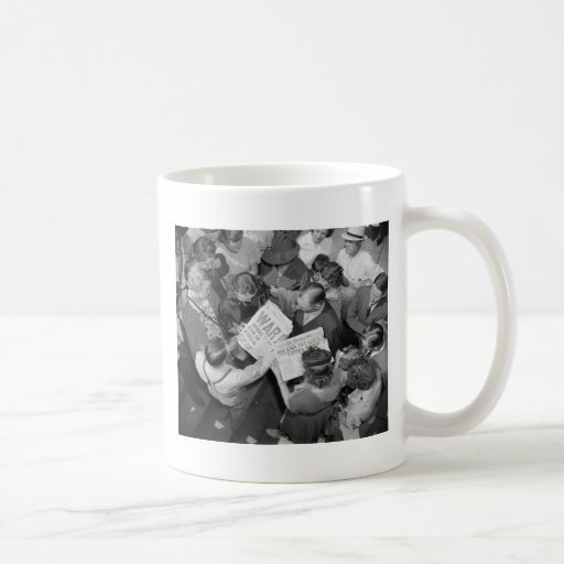 Invasion of Poland, 1939 Basic White Mug