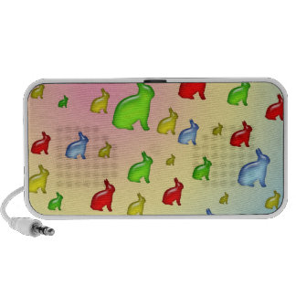 Invasion of the Jelly Bunnies iPhone Speakers