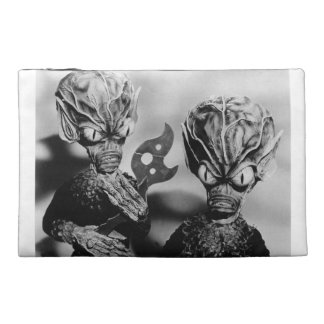 INVASION OF THE SAUCER MEN TRAVEL BAG TRAVEL ACCESSORIES BAGS
