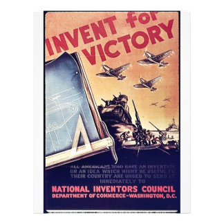 Invent For Victory 21.5 Cm X 28 Cm Flyer