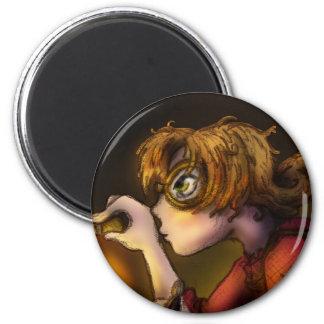 Inventor 6 Cm Round Magnet